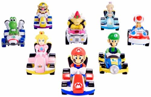 Mattel Hot Wheels® MarioKart Luigi Circuit Special Vehicle Perspective: back