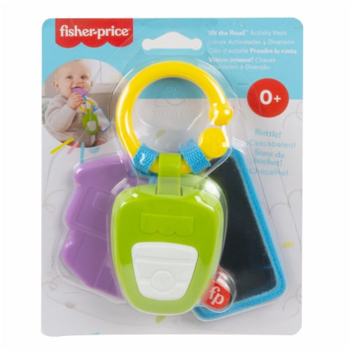 Fisher-Price® Hit the Road Activity Keys Perspective: back