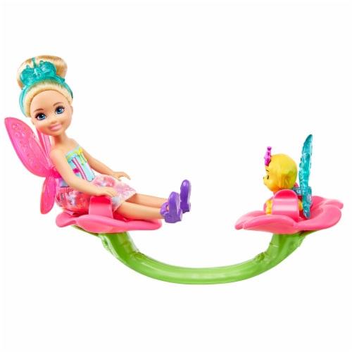 Mattel Barbie® Dreamtopia Chelsea Treehouse Playset Perspective: back