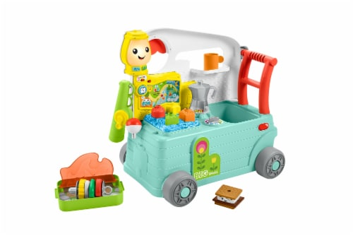 Fisher-Price® Laugh & Learn 3-in-1 On the Go Camper Perspective: back