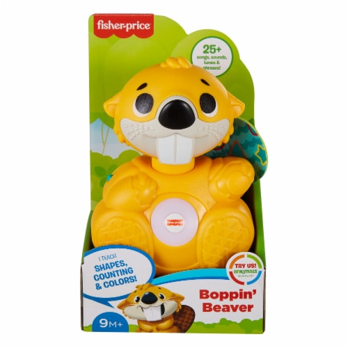 Fisher-Price® Linkimals™ Boppin Beaver Perspective: back