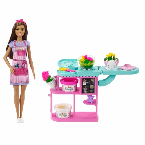 Mattel Barbie® Florist Doll and Playset Perspective: back