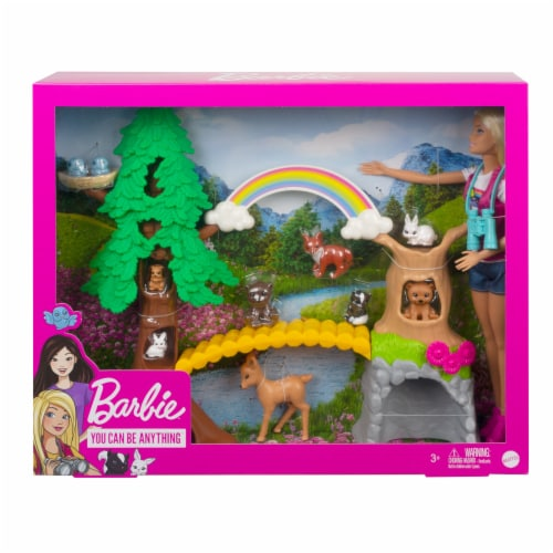 Barbie Wilderness Guide Interactive Play Set Perspective: back