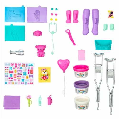 Mattel Barbie Fast Cast Clinic Medical Playset Perspective: back