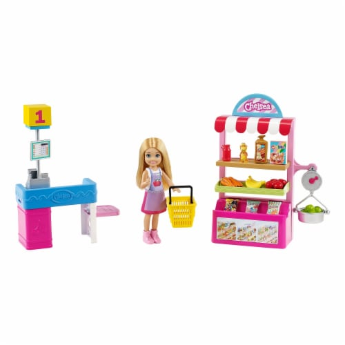 Mattel Barbie® Chelsea Can Be Doll and Playset Perspective: back