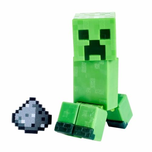 Mattel Minecraft Creeper Figure Perspective: back