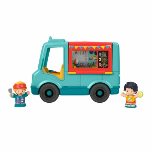 Mattel Fisher-Price® Little People Serve It Up Food Truck Perspective: back