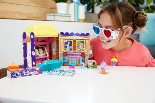 Mattel Polly Pocket Un-Box-It Playset Perspective: back