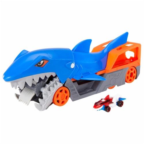 Mattel Hot Wheels® Themed Hauler Playset Perspective: back