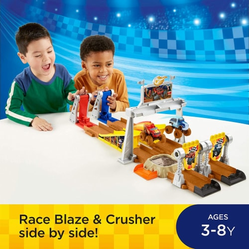 Fisher-Price Nickelodeon Blaze & the Monster Machines, Mud Pit Race Track Perspective: back