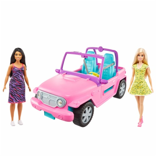 Mattel Barbie® and Friends Dolls Perspective: back
