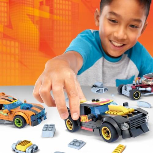Mega Construx™ Hot Wheels® Build and Customize Car Set Perspective: back