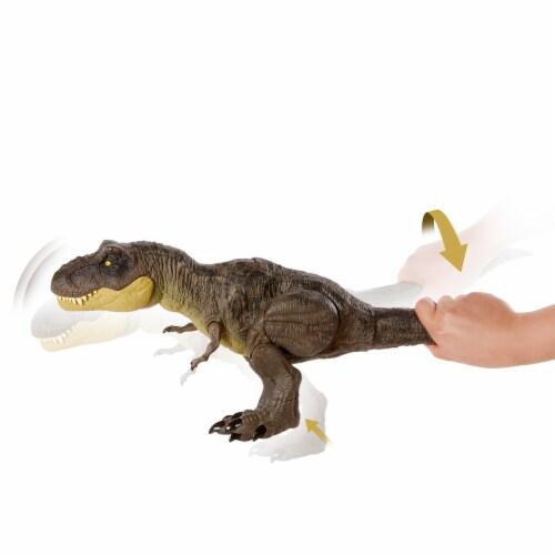 Mattel Jurassic World Stomp Attack Tyrannosaurus Rex Figurine Perspective: back