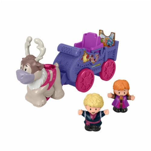 Fisher-Price® Little People Disney Frozen Anna and Kristoff Wagon Perspective: back