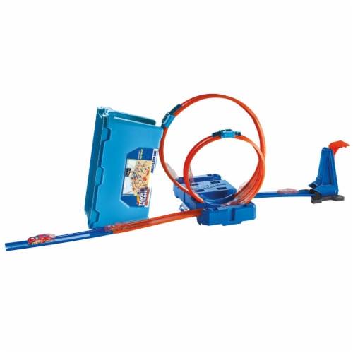 Mattel Hot Wheels® Track Builder Multi Loop Box Perspective: back