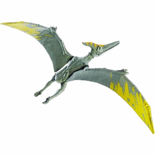 Jurassic World Action Pteranodon Figure, 12-inch Perspective: back
