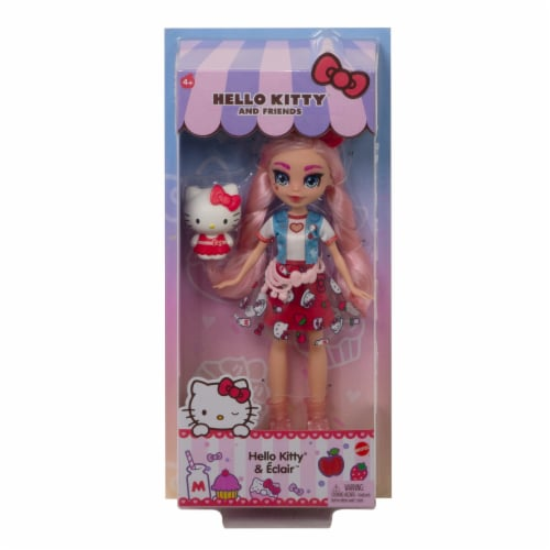 Hello Kitty and Friends Hello Kitty & Eclair Doll Perspective: back
