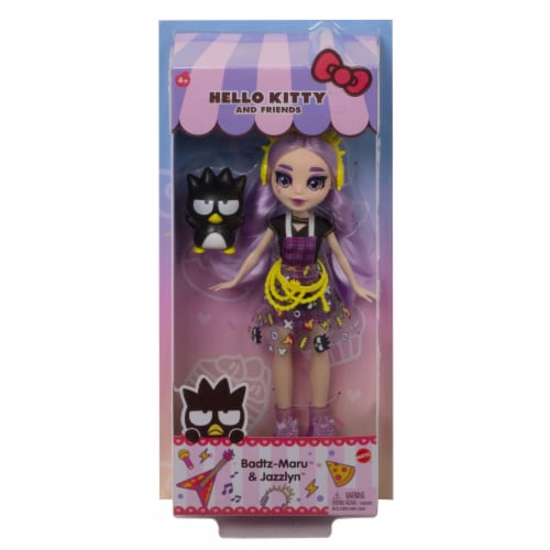 Hello Kitty and Friends Badtz-Maru & Jazzlyn Doll Perspective: back