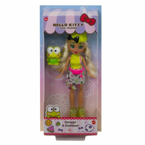 Hello Kitty and Friends Keroppi & Dashleen Doll Perspective: back