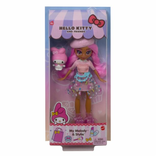 Hello Kitty and Friends My Melody & Stylie Doll Perspective: back