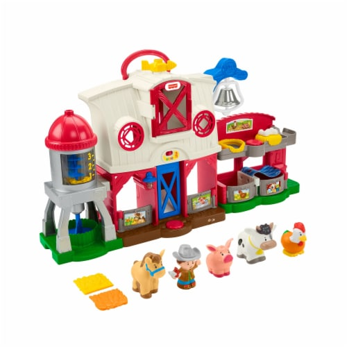 Fisher-Price® Little People Caring for Animals Farm set Perspective: back