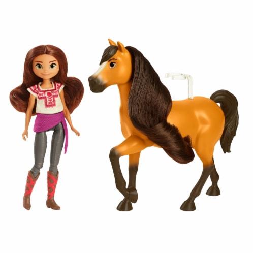 Mattel DreamWorks Spirit Untamed Doll & Horse - Assorted Perspective: back