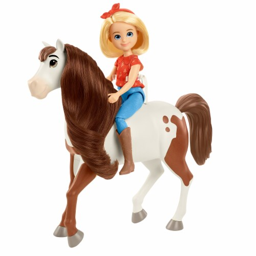 Mattel Spirit Untamed Abigail and Boomerang Perspective: back