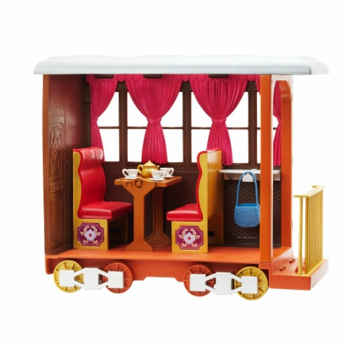 Mattel Spirit Untamed Lucky's Train Home Playset Perspective: back