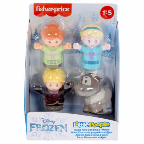 Fisher-Price® Little People Disney Frozen Young Anna and Elsa & Friends Figures Perspective: back