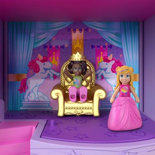 Mattel Polly Pocket Fantasy Fairy Doll Perspective: back