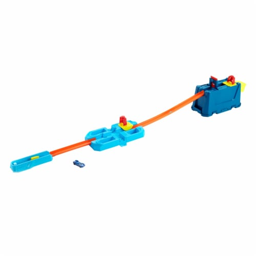 Mattel Hot Wheels Track Builder Unlimted Triple Loop Kit Perspective: back