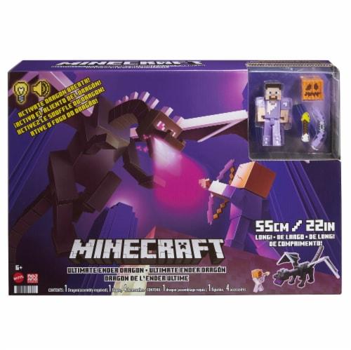 Mattel Minecraft Ultimate Ender Dragon Set Perspective: back