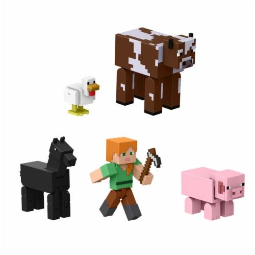 Mattel Minecraft Farm Life Adventure Pack Perspective: back