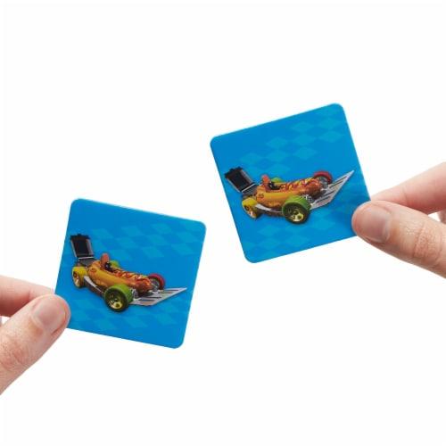 Mattel Hot Wheels® Preschool Make-a-Match Matching Game Perspective: back