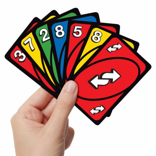 Mattel UNO 50th Anniversary Premium Edition Wild Card Game Perspective: back