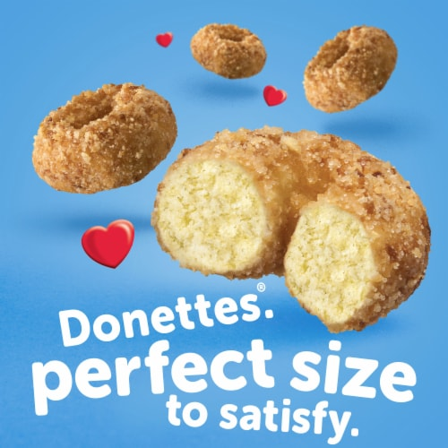 Hostess Single-Serve Crunch Donettes Donuts 6 Count Perspective: back