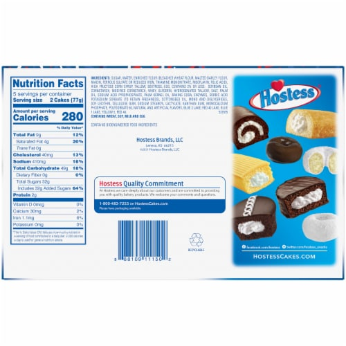 Hostess Red White & Blue Twinkies Perspective: back