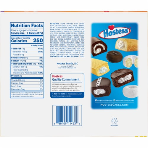 Hostess Limited Edition Carrot Cake Donettes On The Go Perspective: back