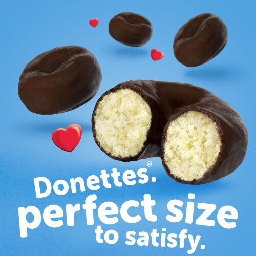 Hostess Frosted Mini Donettes Perspective: back