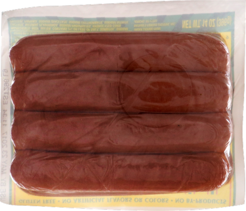 Nathan's Famous Skinless Beef Franks 8 Count Perspective: back