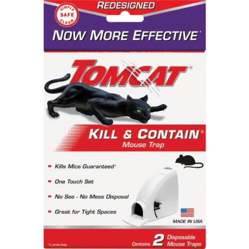 Tomcat® Kill and Contain Mouse Trap Perspective: back