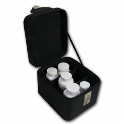 EGI Lockable Medicine Box - Keep Medicine Away From Kids Perspective: back