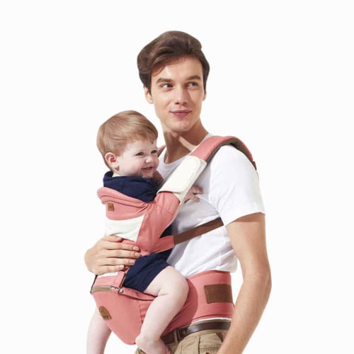 Karma Baby Ergonomic Baby Carrier Sling - Pink Perspective: back