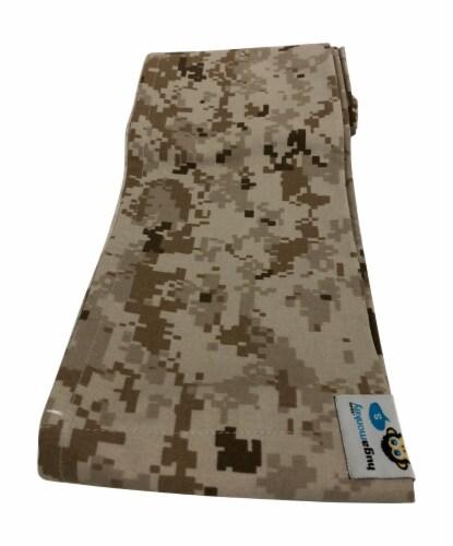 HugaMonkey Camouflage Brown Military Baby Sling - Extra Large Perspective: back