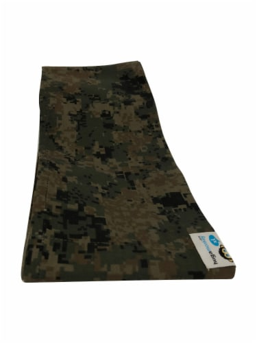 HugaMonkey Camouflage Dark Green Military Infant Baby Soft Carrier Sling - Small Perspective: back
