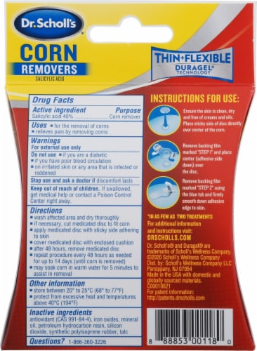 Dr. Scholl's® Corn Removal Cushions Perspective: back