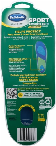 Dr. Scholl's Athletic Series Sport Advanced Women's Insoles Perspective: back