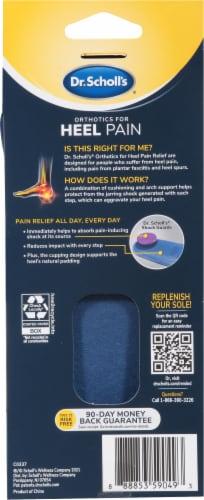 Dr. Scholl's Men's Orthotics for Heel Pain Perspective: back