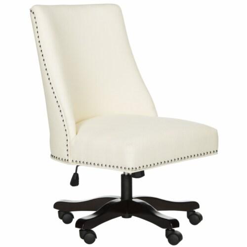 Scarlet Desk Chair Creme Perspective: back