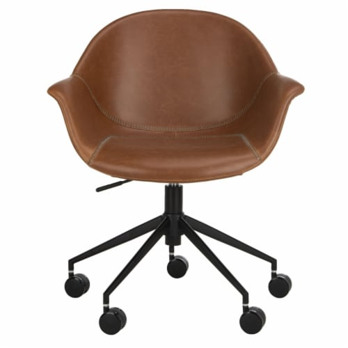 Ember Office Chair Cognac Perspective: back